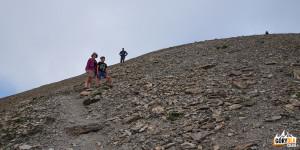 W drodze na Pic (2826 m)