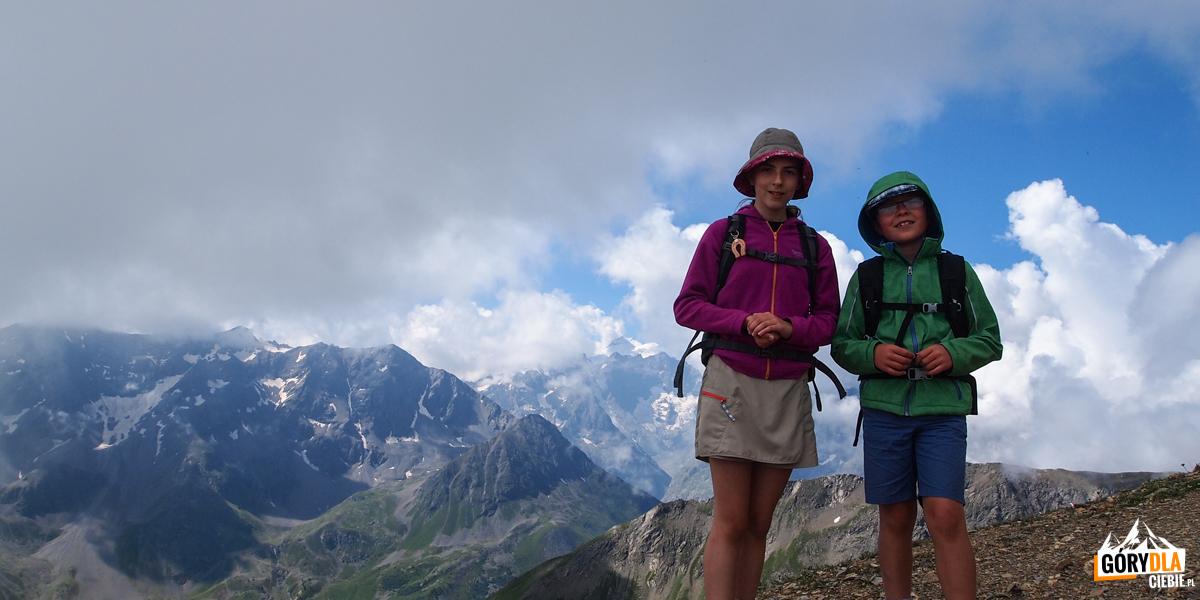 Zosia i Michał na Pic (2826 m)