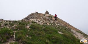 Podejście pod Pic (2826 m)