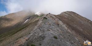 Panorama z Pic Blanc du Galibier (2955 m)