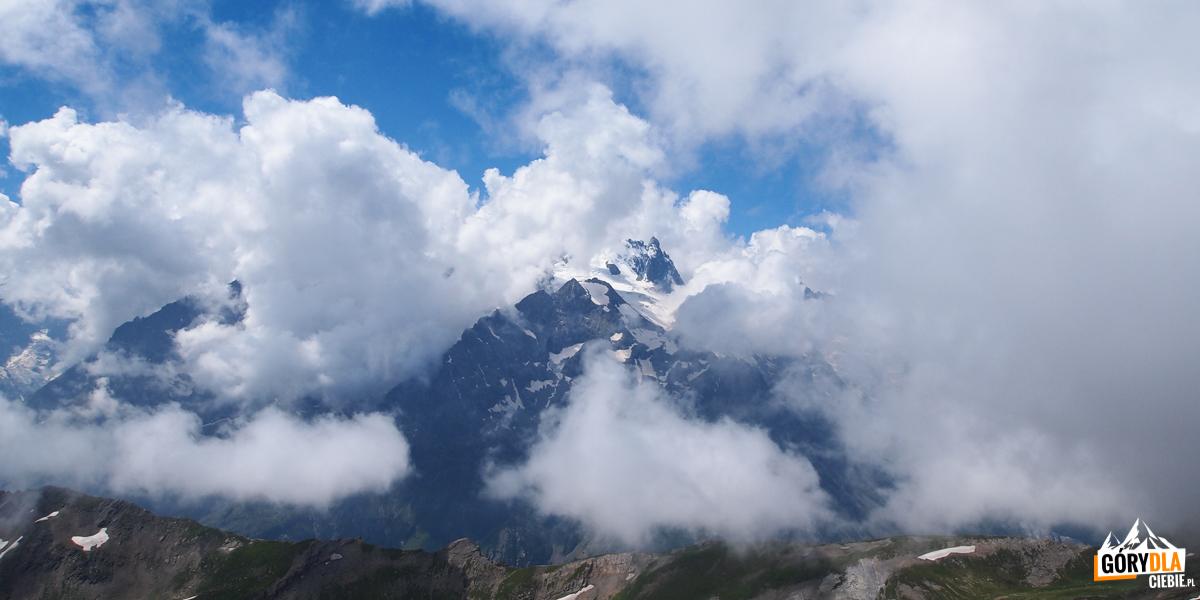 Panorama zPic Blanc du Galibier (2955 m)