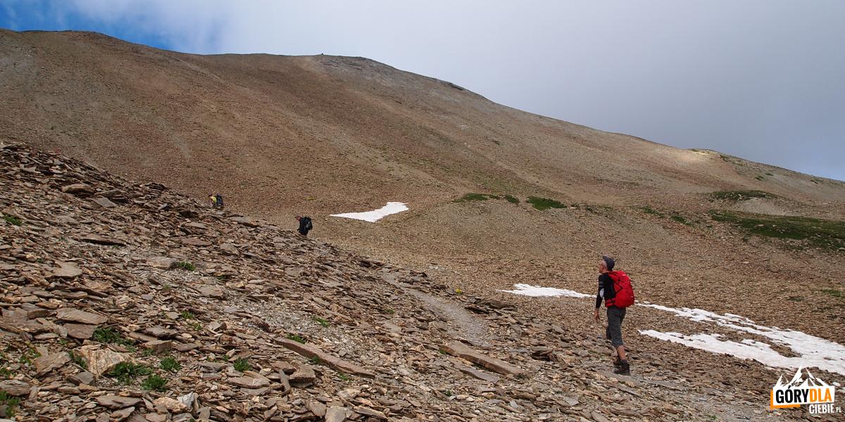 W drodze na Pic Blanc du Galibier
