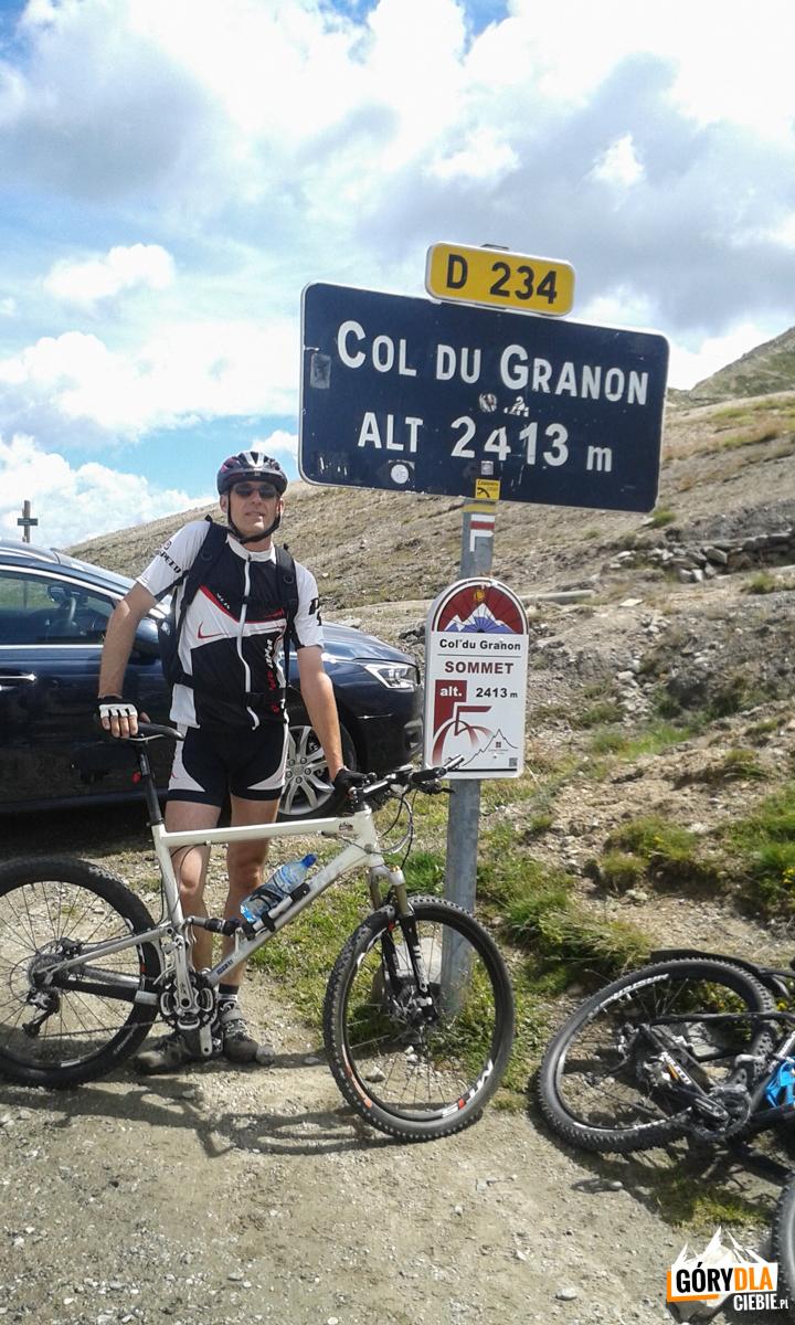 Przełęcz Granon (2413 m)