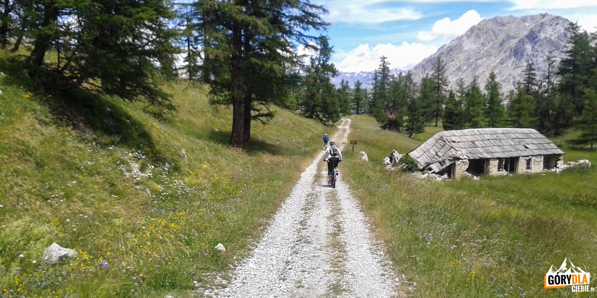 Na trasie zprzełęczy Granon doFort de l'Olive