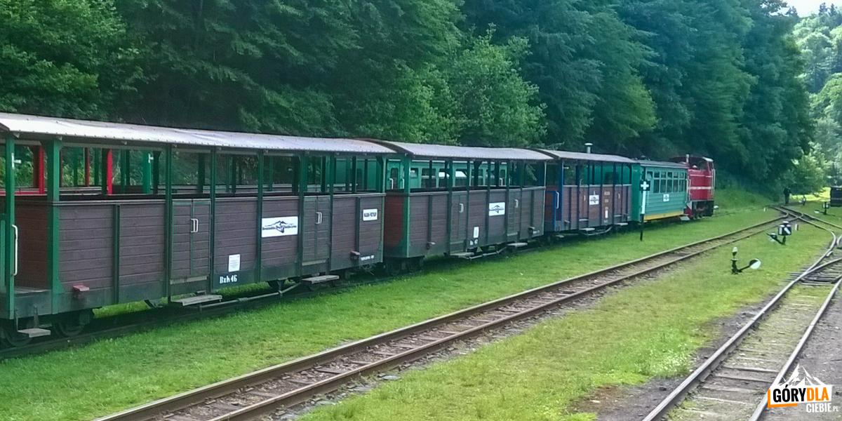 Bieszczadzka kolej (fot.Marzena Gumińska-Gruszka)