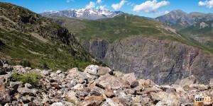 Widok z drogi do Jeziora Puy Vachier (Lac du Puy Vachier)