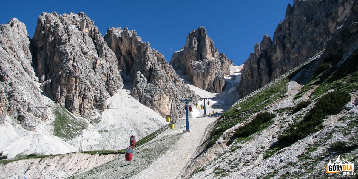 Wyciąg na Przełęcz Forcella Staunies
