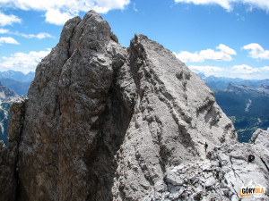 Szczyt Cristallino d'Ampezzo (3008 m)