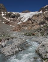 Glacier Noir Blanc