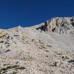 Ścieżka do schroniska Triglavski dom na Kredarici