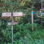 Trasa dojazdu do Kovinarska koča v Krmi
