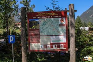 Tablica Triglawskiego Parku Narodowego