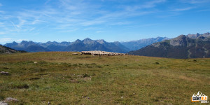 Droga GR 5C z Col Gnanon na Col Barteaux (2382 m)