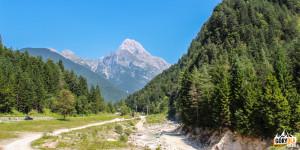 Droga 203 z Bovec na Przełęcz Predel