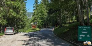 Punkt poboru opłaty ekologicznej na Mangartskiej Drodze
