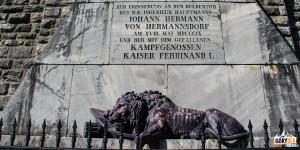 Pomnik upamiętniający austriackich obrońców Predla z 1809 rok