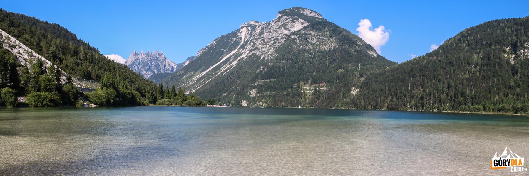 Jezioro Predil we Włoszech przy granicy ze Słowenią