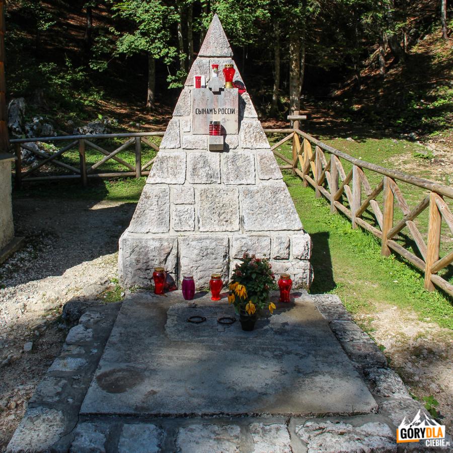 Ruska kapelica na Vršiču - pomnik