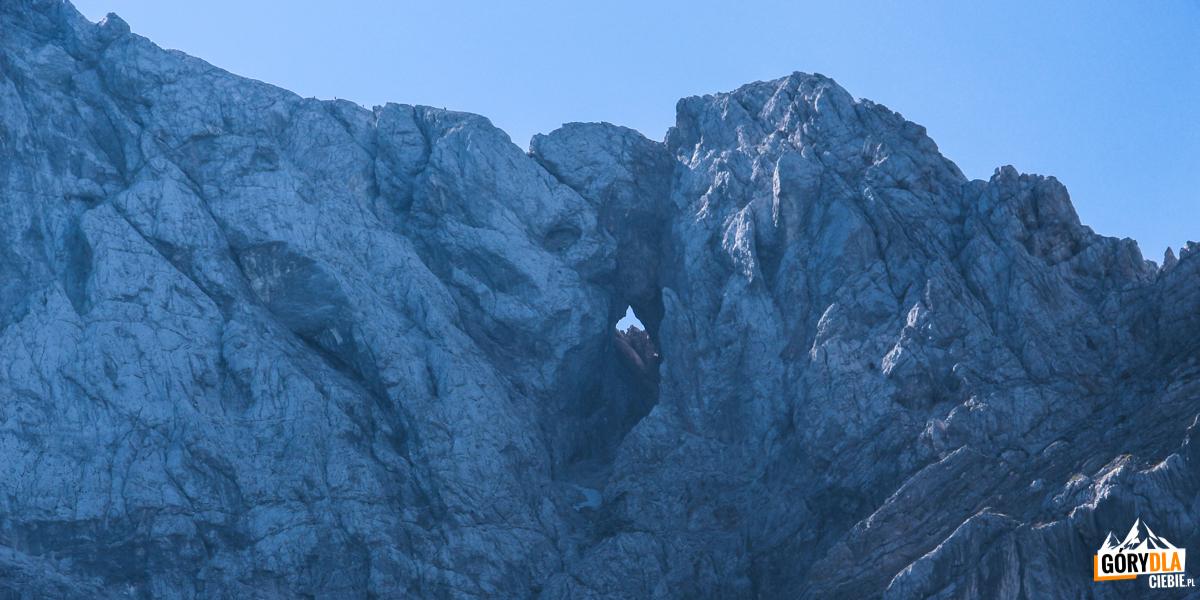 Widok na szczyty przy Ruskiej Drodze