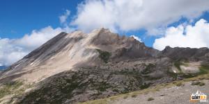 Na przełęczy Col Vieux (2806 m)