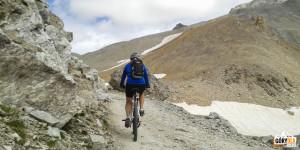 Droga na na Przełęcz Sommeiller (2993 m)