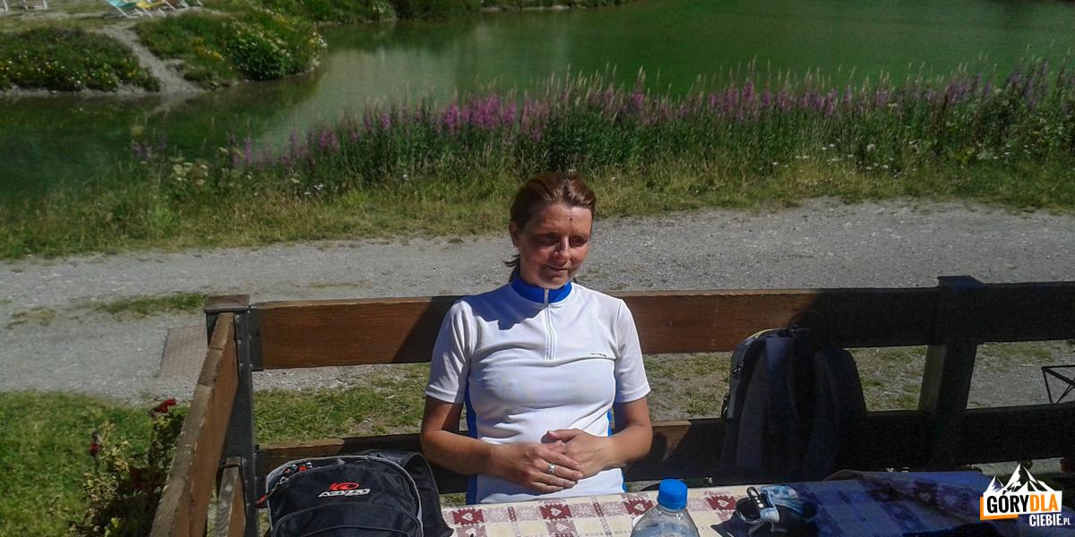 Odpoczynek w schronisku Scarfiotti