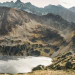 Dolina Pięciu Stawów Polskich widziana z Koziego Wierchu (2291 m)
