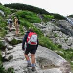 Ścieżka nad Siklawą przy tzw. Danielkach - wygładzeniach polodowcowych