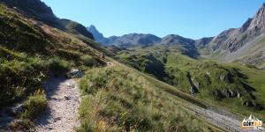 Na trasie w kierunku przełęczy la Ponsonnière
