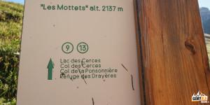 Przysiółek Les Mottets (2137 m)