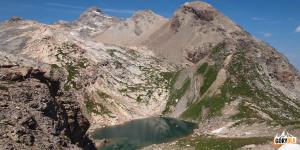 Lac Blanc 2643 m, w drodze na Grand Galibier