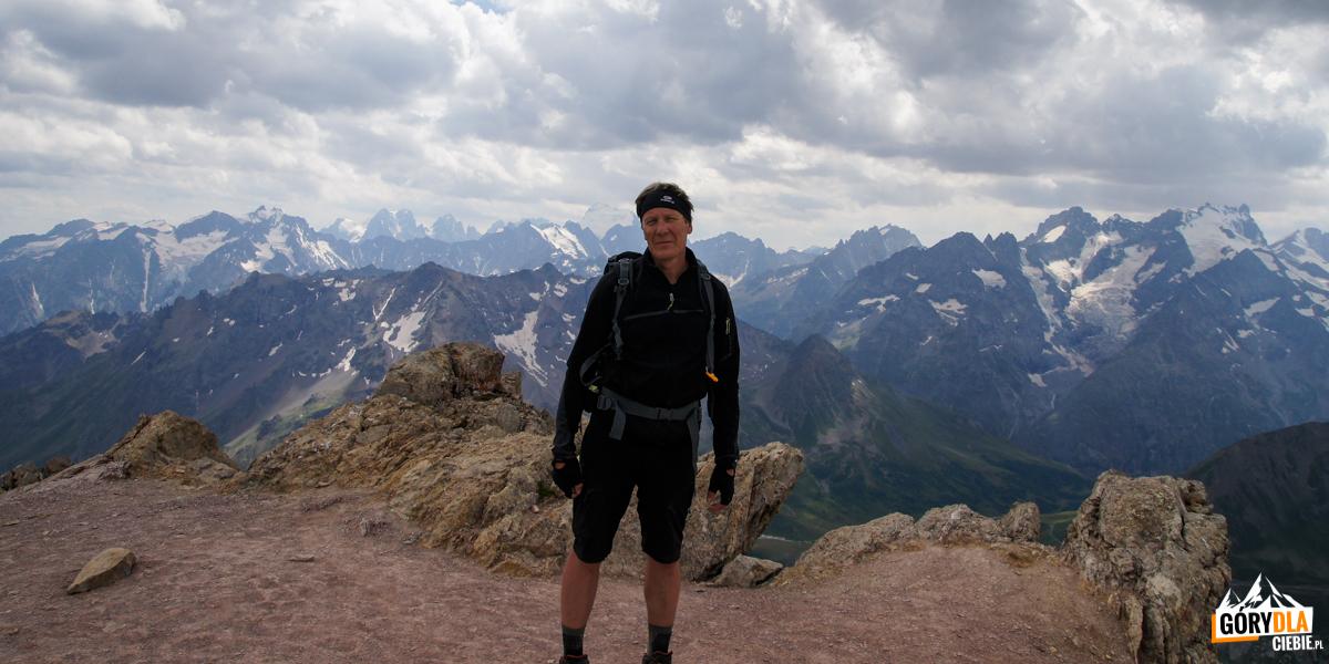 Na szczycie Grand Galibier - 3228 m