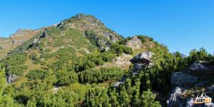 Ostredok (Małe Otargańce)- wyższy szczyt, wys. 1714 m