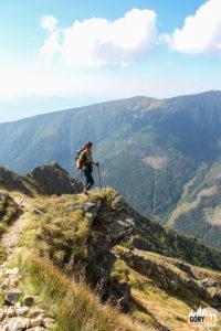 Podejście na szczyt Pośredniej Magury (2050 m)