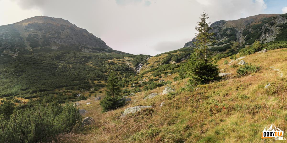 Wodospad na progu Zadniej Raczkowej Doliny