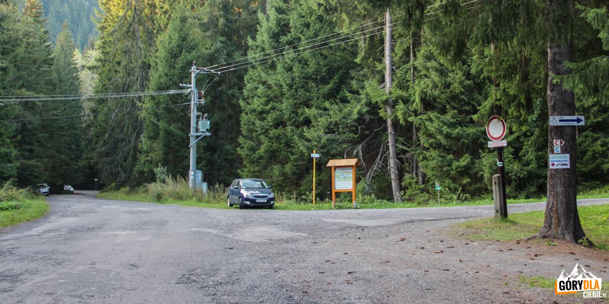 Dojazd z Przybyliny do Wąskiej Doliny (Úzka dolina)