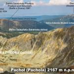 Panorama Tatr ze szczytu Pachoła