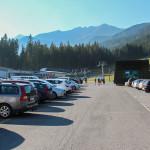 Parking stacji narciarskiej Rohacze-Spalena
