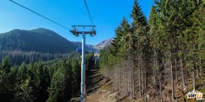 Kolejka linowa (6 os. krzesło) stacji narciarskiej Rohacze-Spalena