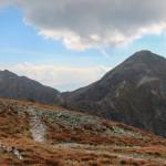 Banówka (2178 m) i Pachoł (2167 m) widziane ze Spalonej Kopy (2083 m)