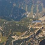 Rohackie Stawy widziane ze szczytu Pachoła (2167 m)
