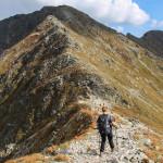 Zejście z Pachoła (2167 m) na Banikowską Przełęcz (2040 m)