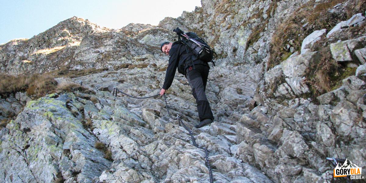 Podejście na Szpiglasową Przełęcz