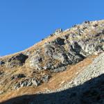 Szpiglasowa Przełęcz od strony Dolinki za Mnichem