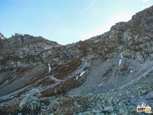 Szpiglasowa Przełęcz od strony 5 Stawów