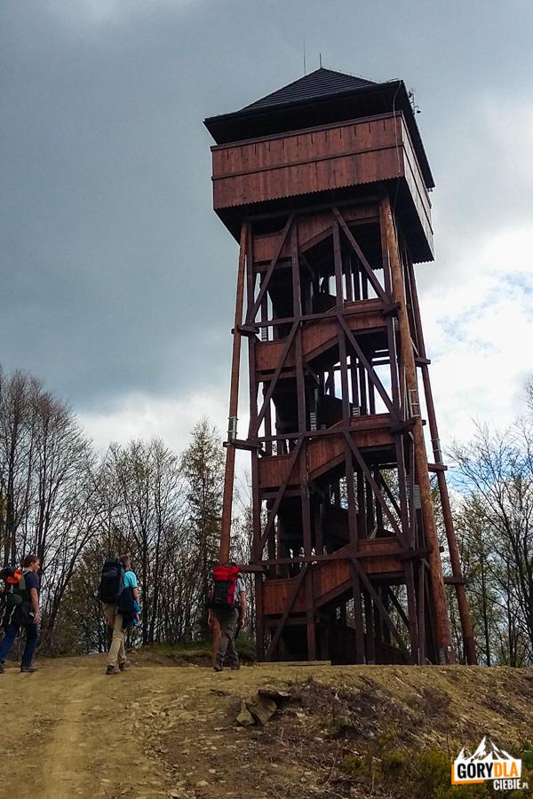 Wieża widokowa naKoziarzu - Beskid Sądecki