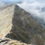 Świnicka Przełęcz (2051 m) i Pośrednia Turnia (2128 m)