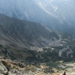 Walentkowa Dolina widziana spod szczytu Świnicy