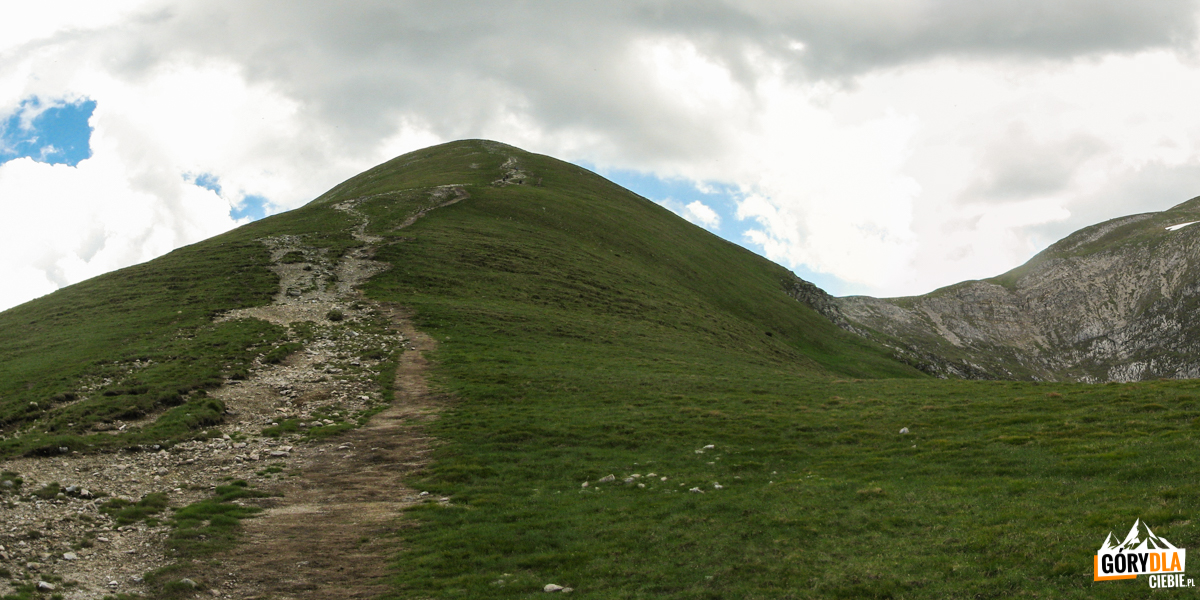 Wejście Czerwonym Grzbietem na Małołącziak (2096)