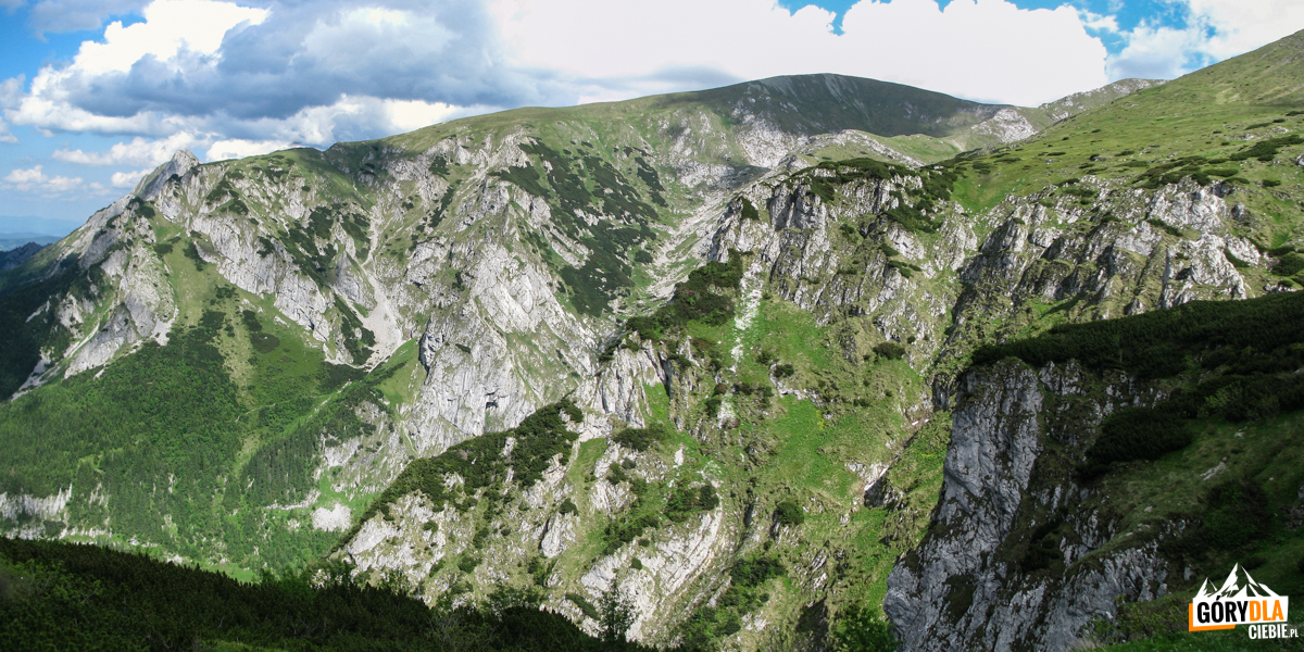 Górna część Doliny Miętusiej, Dolinka Litworowa iMałołączniak